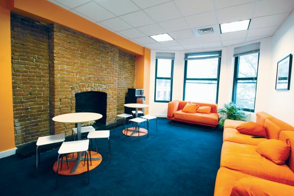 Relaxing Student Lounge - EC Boston